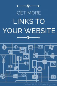 get more links to your website