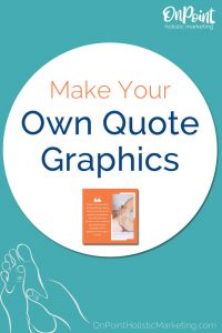make your own quote graphics