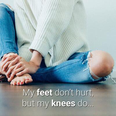 faq knees hurt