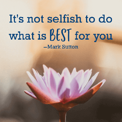 self care best for you