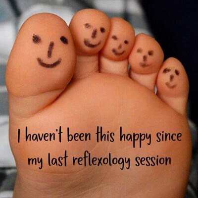 sell happiness reflexology