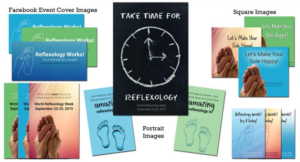 World Reflexology Week Graphics pack