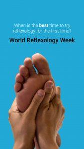 world reflexology week social media post