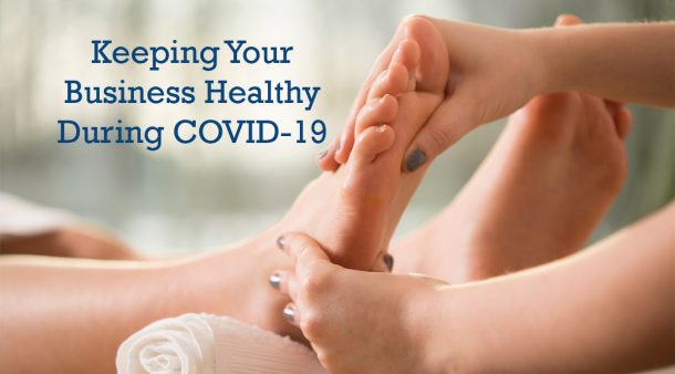 covid19 keep reflexology business healthy