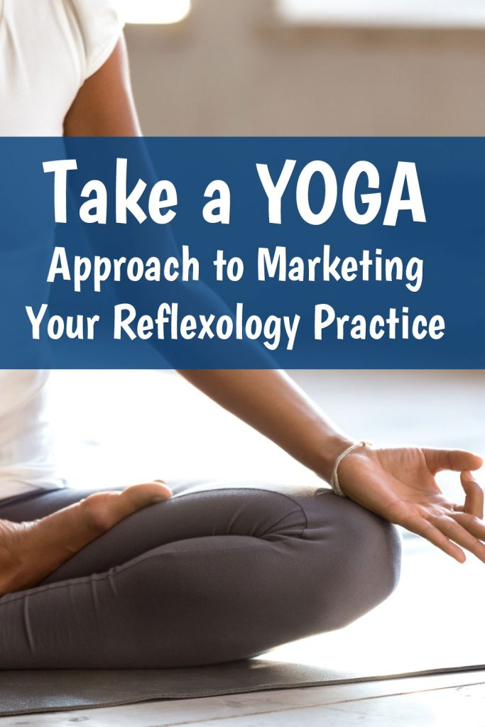 yoga approach to reflexology marketing