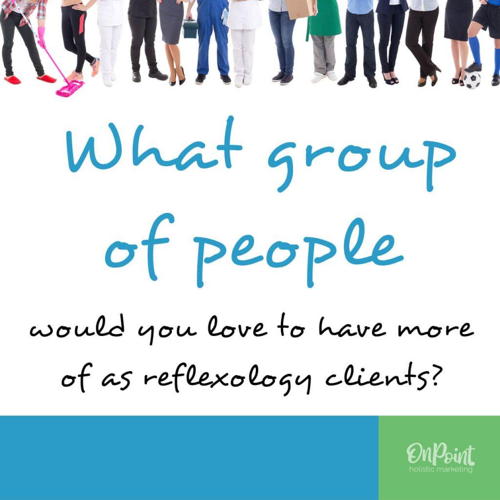 more reflexology clients