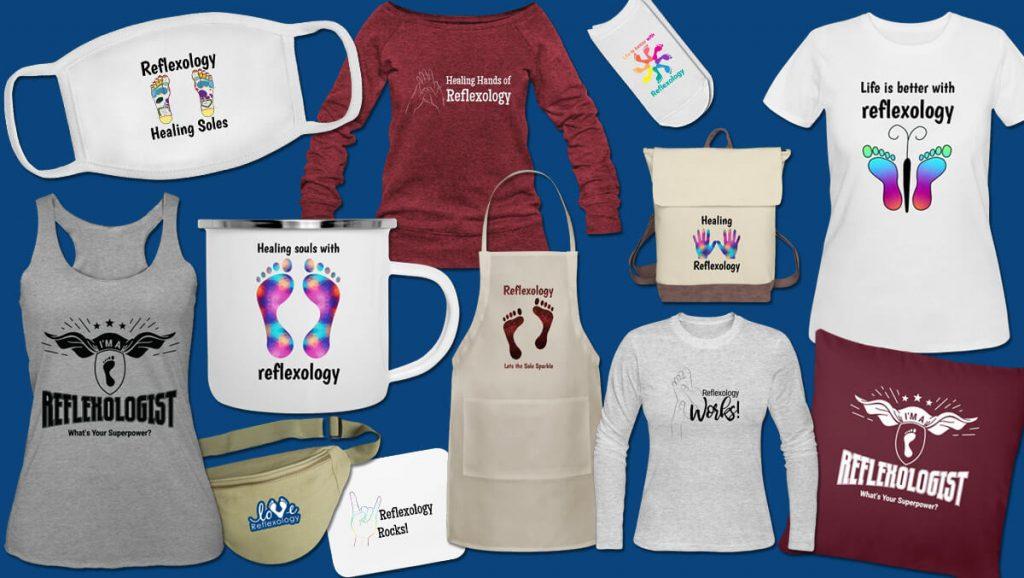 wearable reflexology shirts marketing items
