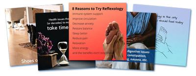 5 free reflexology graphics